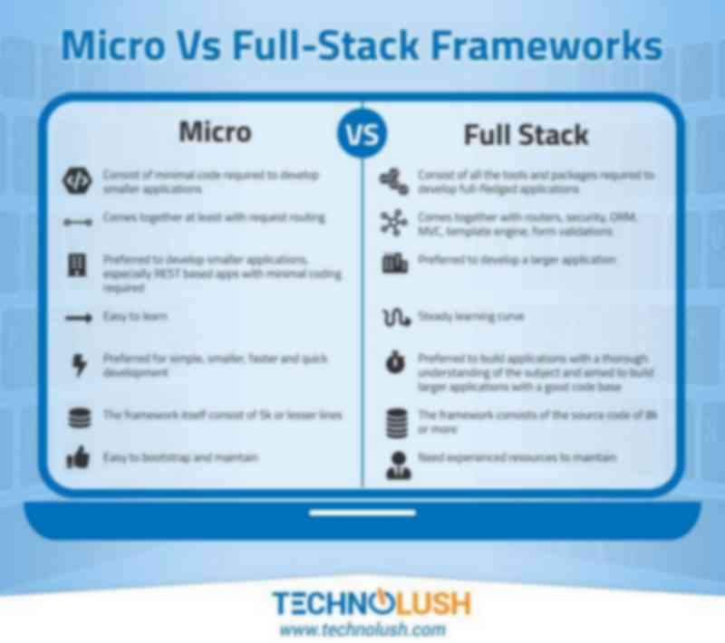 Micro Vs Full-Stack Frameworks