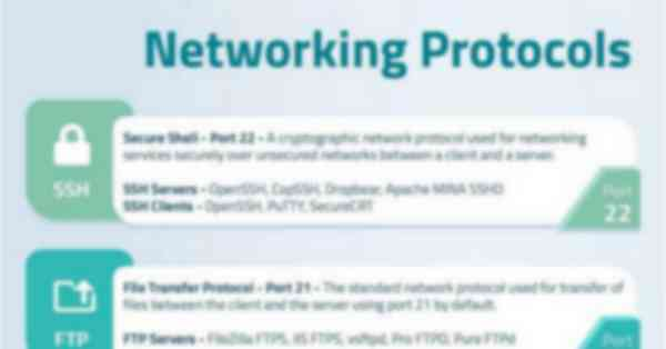 Networking Protocols