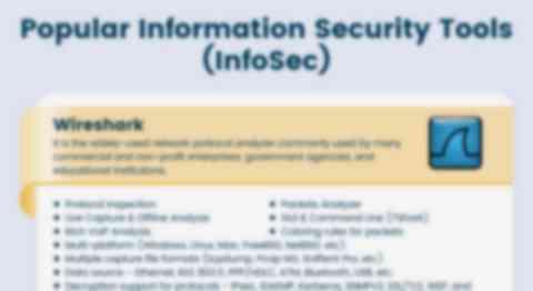 Popular Info Sec Tools